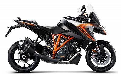 KTM 1290 SUPER DUKE GT, black 2021