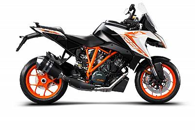 KTM 1290 SUPER DUKE GT, white 2021